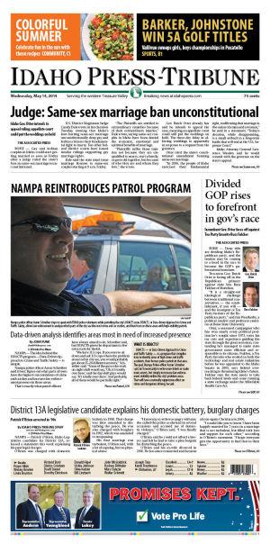 Idaho Press-Tribune: World AP News