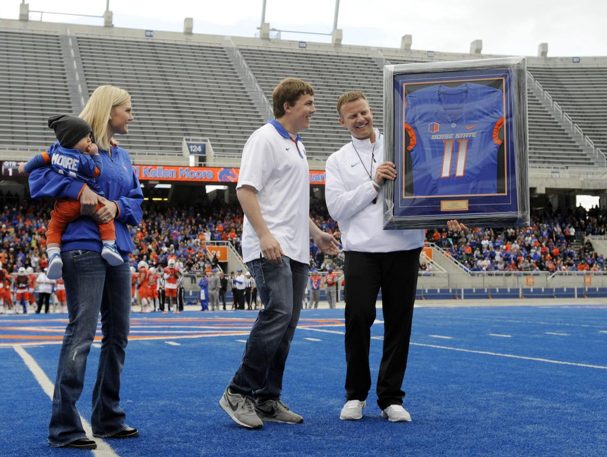 NFL Jerseys - Former Boise State quarterback Kellen Moore promoted to Dallas ...