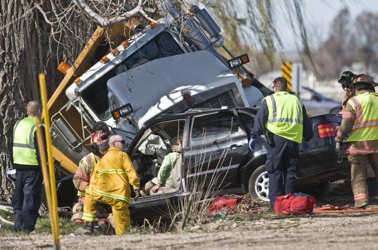 Eagle Idaho Car Accident