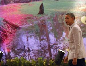 Obama makes history with Myanmar, Cambodia visits
