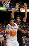 <p>Boise State's Ryan Watkins was named to the Mountain West's second team despite setting a rebounding record.</p>