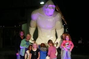 Bigfoot Sculpture