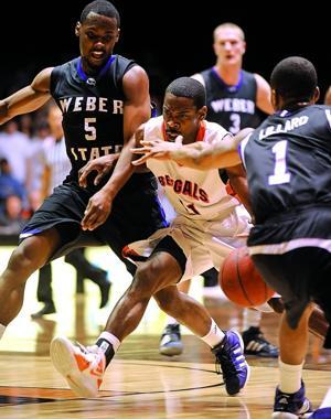ISU/Weber State men's basketball