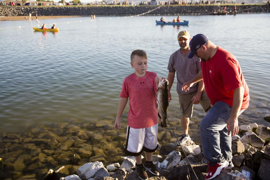 Top 3 places to spend free fishing day in southeast idaho for Best fishing in idaho