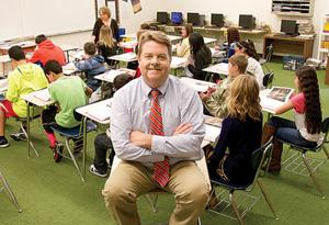 William Thomas Middle School Principal Randy Jensen