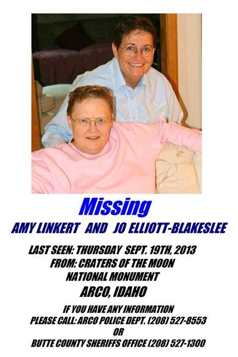Amy Linkert, 63, and Jo Elliot-Blakeslee, 69