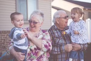 <p>Involved grandparents like Linda and Richard Shutes, who spend time with 2-year-old grandson, Taybin Shutes, and 4-year-old granddaughter, Paige Shutes, reportedly enjoy increased psychological well-being and fewer symptoms of depression.</p>