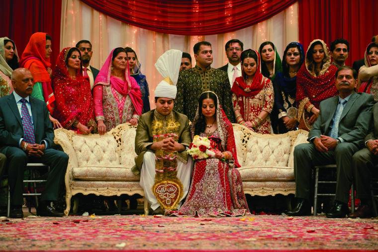 traditional wedding threeday event for muslim couple