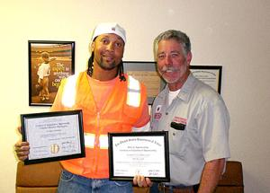 San Diego Job Corps Graduate Honored By Bricklayers And Allied Craftworkers