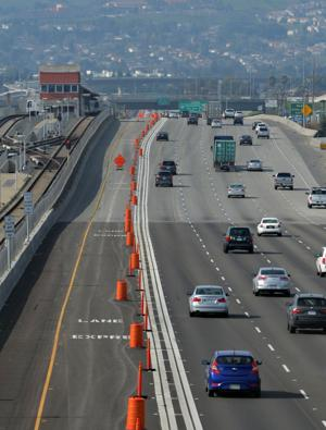 The media was given a tour of the new I-580 Express Lanes specially designed to improve the commute for all motorists along the approximately 14-mile Tri-Valley corridor in Alameda County through Dublin, Pleasanton and Livermore. The lanes are scheduled to open in February 2016 (weather dependent). The I-580 Express Lanes are operated by the Alameda County Transportation Commission (Alameda CTC) and are funded with federal, state, regional and local dollars, including voter-approved Measure B. They are part of the Bay Area Express Lanes, a network that will include 550 miles of express lanes by 2035 in the Tri-Valley. For more information, visit the Alameda CTC Website at www.alamedactc.org/580expressmediakit (Photos - Doug Jorgensen)