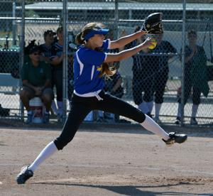 Foothill High School downed Livermore High School 5 to 1 in EBAL varsity girls' softball action (Photos - Doug Jorgensen).