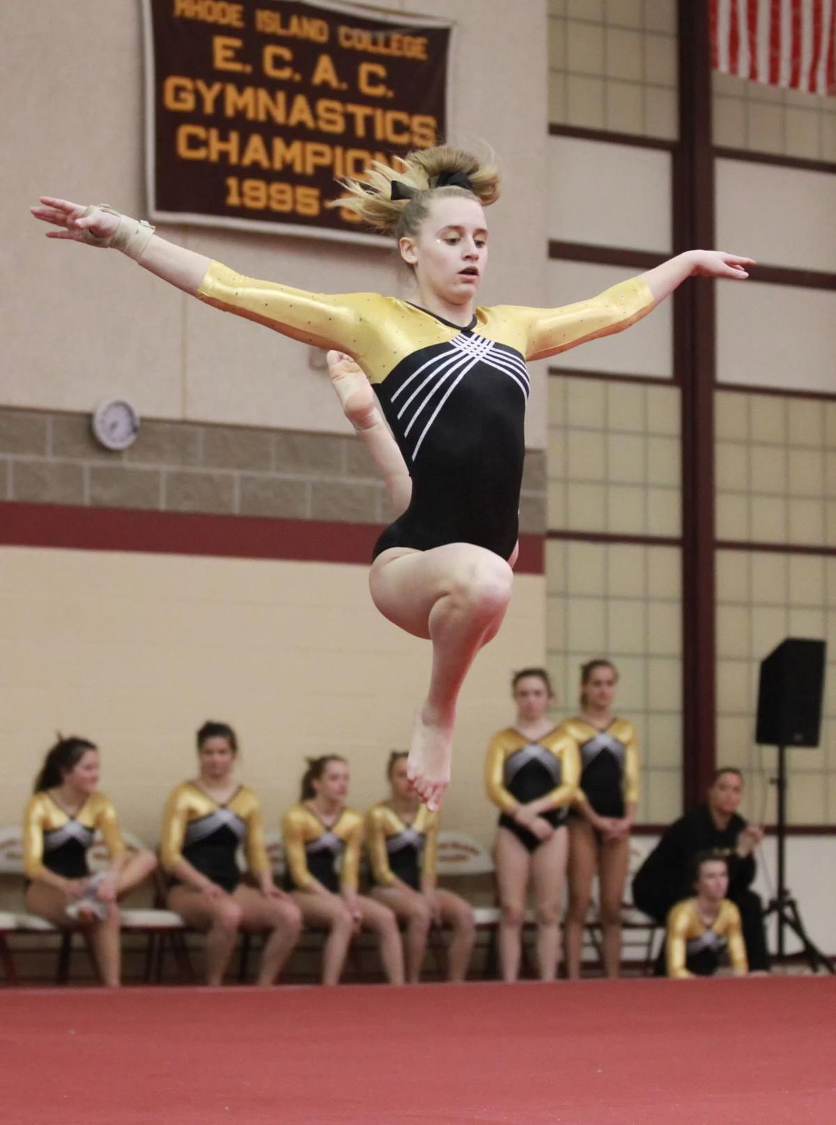 North Wins Second Consecutive Gymnastics Crown