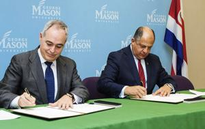 Mason, Costa Rica ink partnership on studying mosquito-borne illness