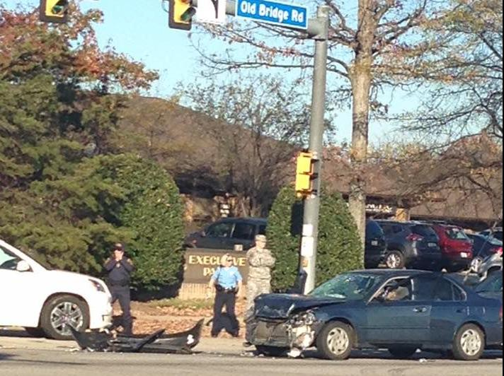 Police Chase Ends In Crash In Lake Ridge Headlines