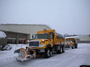 Manassas snow removal trucks