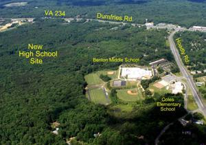 New high school aerial