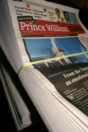 Prince William Today's first edition