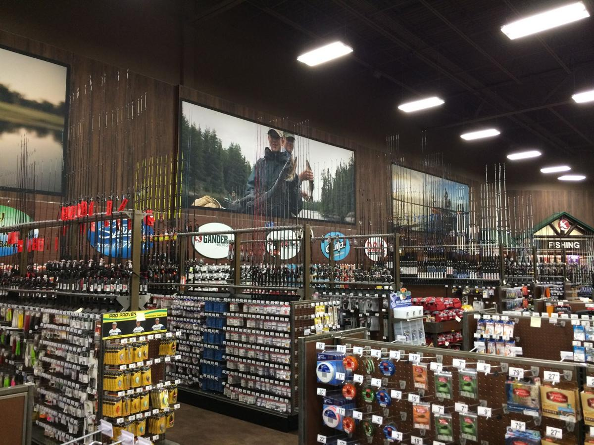 Gander mountain opens tuesday near potomac mills for Gander mountain fishing