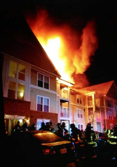 Chatsworth Park apartments fire