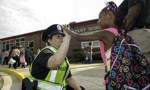 Dumfries first elementary school resource officer