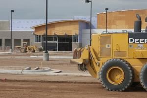 Walmart's new supercenter opens at The Bridges this year.