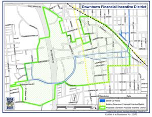 Tucson DFID Map