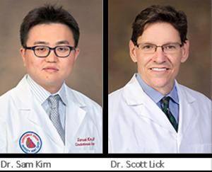 Samuel Kim and Scott Lick