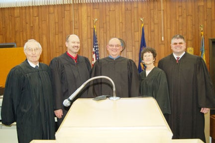 Martin invested as Iosco's 12th probate judge | Front ...