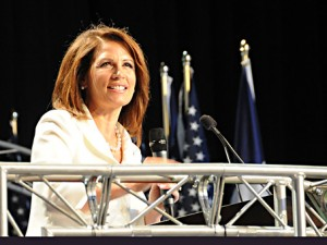 2011 Ames Straw Poll - Bachmann's final straw poll speech