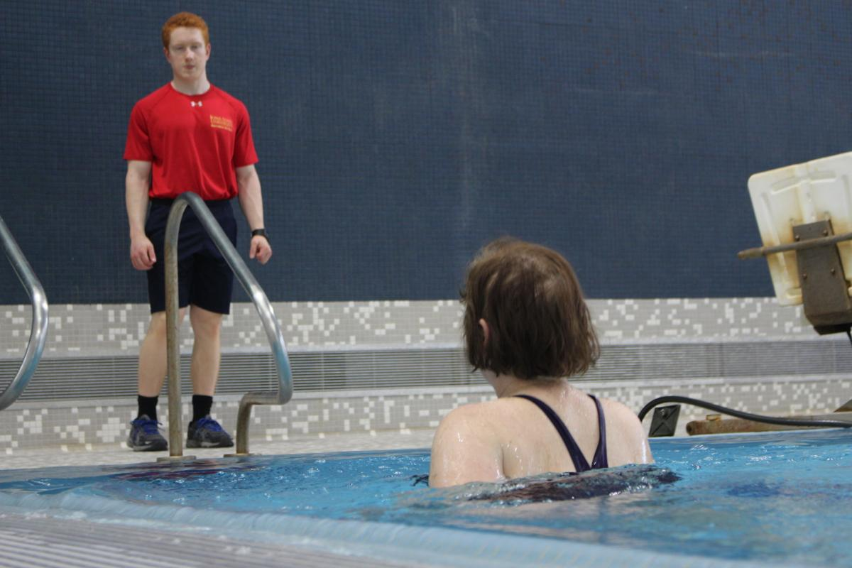 Rec services to open first pool party self - Fitness first gyms with swimming pools ...
