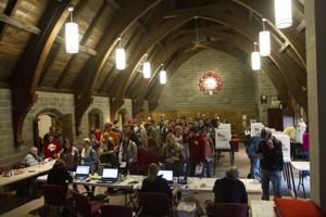 2012 election Ames 4-1 in Memorial Lutheran Church