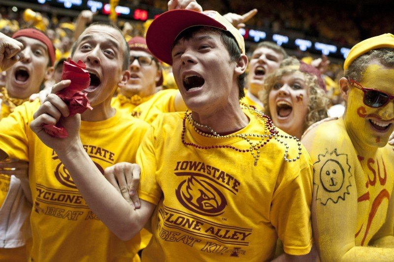Men's Basketball vs. Kansas - Cyclone Fans