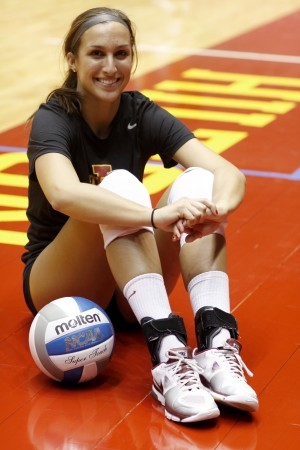 Volleyball Rachel Hockaday