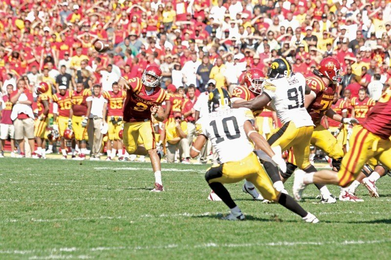 Iowa vs. Iowa State - Steele Jantz