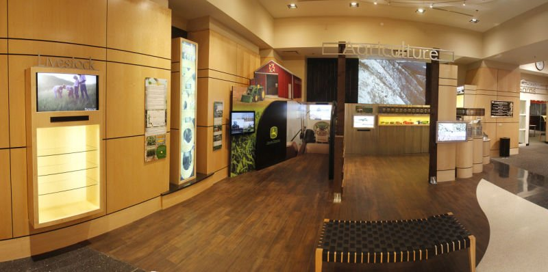 College of Agriculture Exhibit at Iowa Hall of Pride