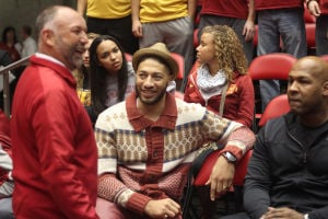 Royce White visits