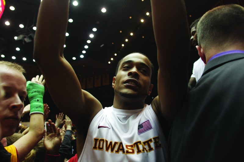 Iowa State Men's Basketball v. Kansas--Chris Allen