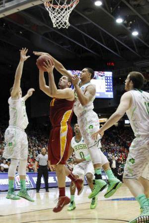 Iowa State wins Second Round against Notre Dame