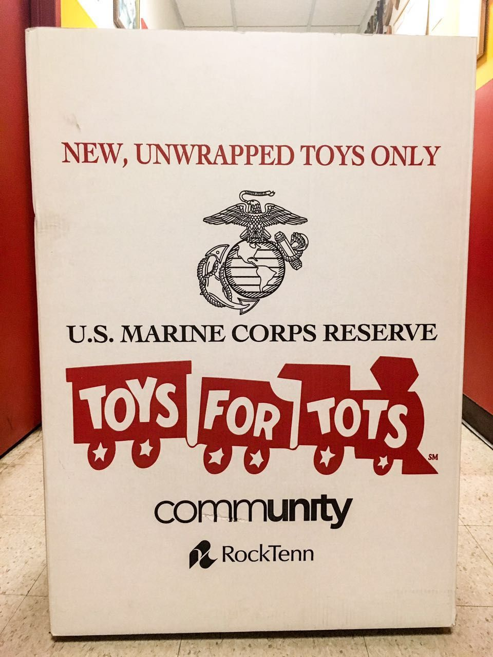 Toys For Tots Box : Concert to benefit toys for tots ames