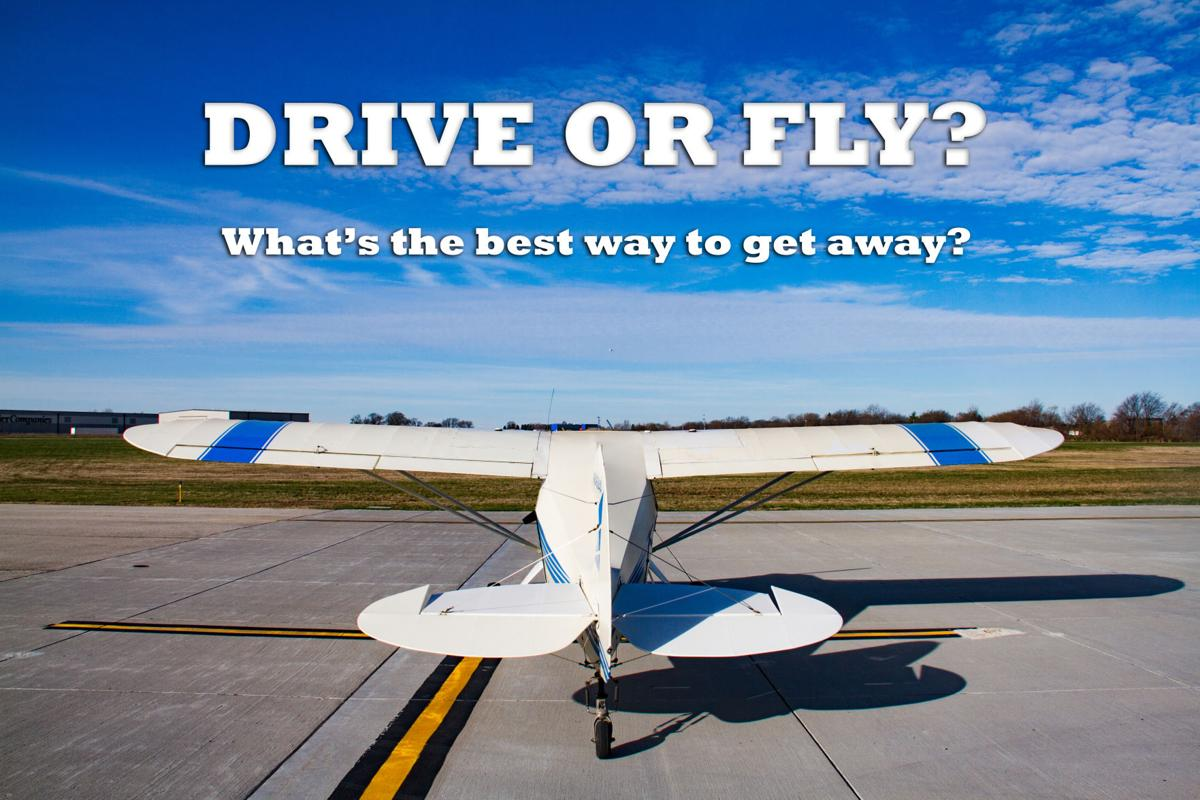flying vs driving I wanna send my girlfriend a ticket but not sure, she never been on a(n) traveling out of state before please helpi have to send her a ticket before the 6th of july from il to fl.