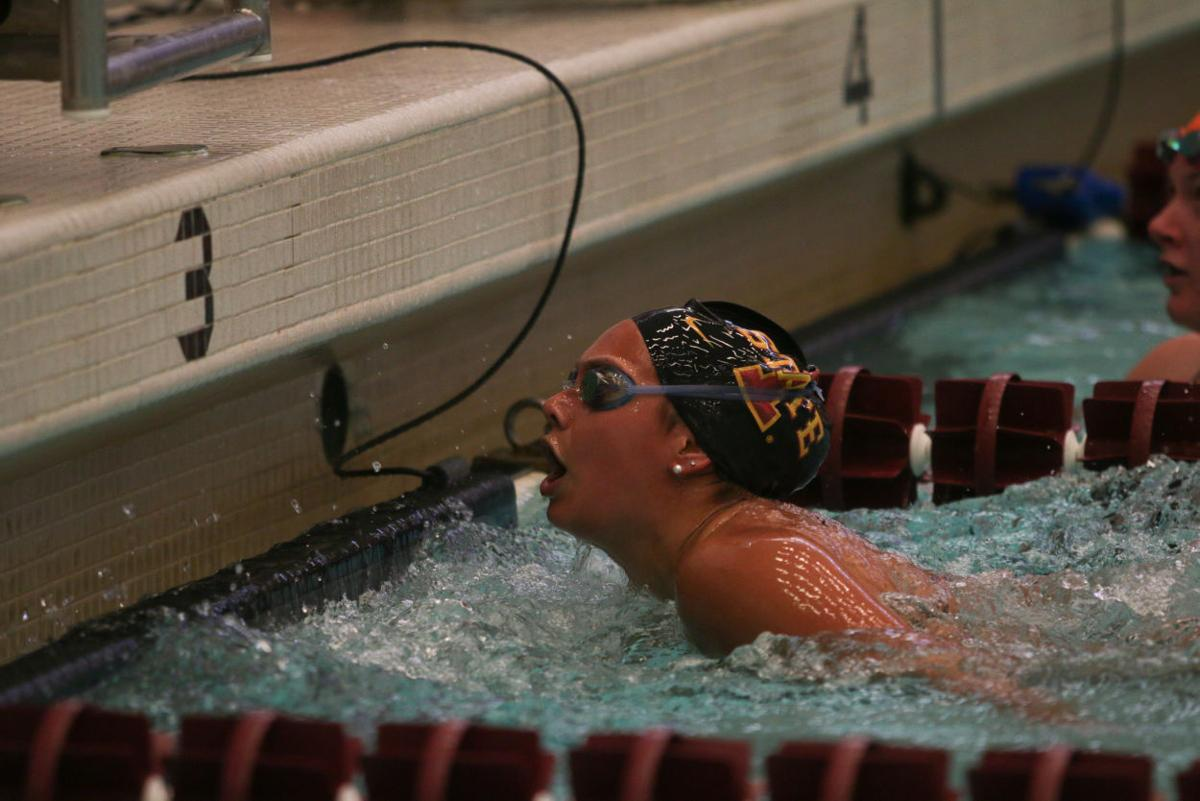 Isu Swim And Dive Defeats In State Rival Uni Sports