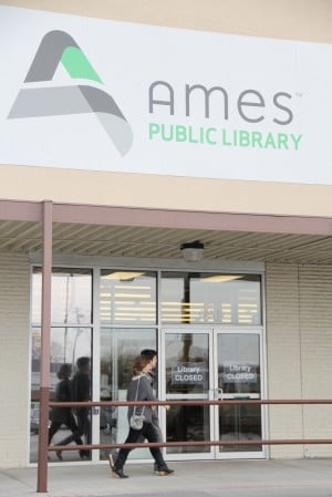 Ames Public Library Moving