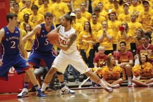 Iowa State Men's Basketball v. Kansas--Royce White