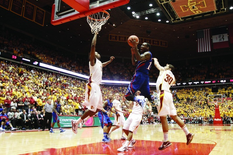 MBB vs Kansas - Tyshawn Taylor