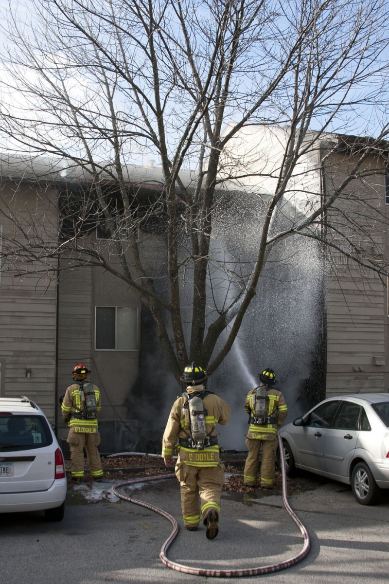 Campus Ave. Fire