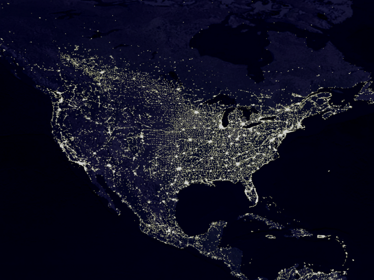 Population Density StatChat - Population density us cities map