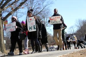 BSA marches on campus