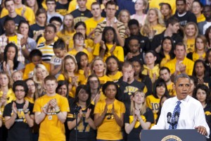 President Obama Speaks in Iowa City