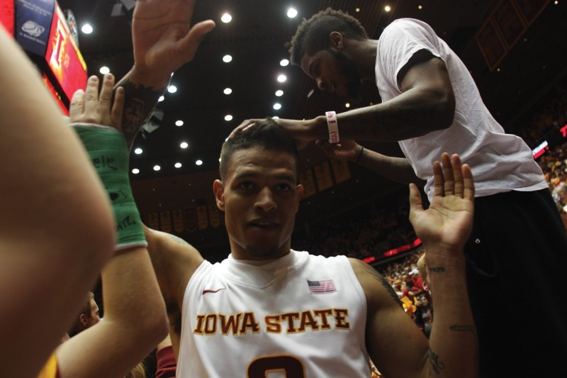 Iowa State Men's Basketball v. Kansas--Chris Babb