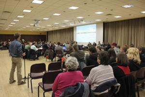 GSB hosts open forum to discuss increased enrollment